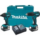 Makita LXT239 18V LXT® Lithium-Ion Brushless Cordless 2-Pc. Combo Kit