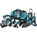 Makita LXT902 18V LXT® Lithium-Ion Cordless 9-Pc. Combo Kit