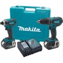 Makita LXT211 18V LXT® Lithium-Ion Cordless 2-Pc. Combo Kit
