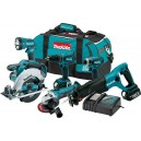Makita LXT601 18V LXT® Lithium-Ion Cordless 6-Pc. Combo Kit