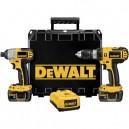 DeWalt DCK266L  18V Cordless Compact Li-Ion Hammerdrill / Impact