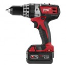 "Milwaukee 2602-22 M18™ Cordless Lithium-Ion ½"" Hammer Drill/Driver Kit"