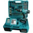 Makita LXT BHP453 Makita BHP 453 RTK 18 Volt Cordless Combi Li-Ion & 101pc Bit Set