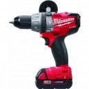 "Milwaukee 2604-22 Milwaukee Tool M18 FUEL 1/2"" Hammer Drill/Driver Kit 2604-22"