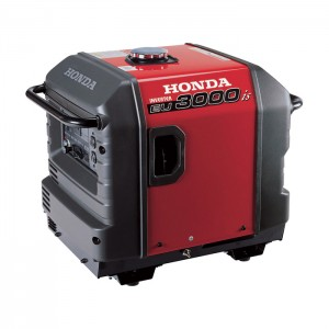 Honda EU3000is Inverter Generator  3000 Surge Watts, 2800 Rated Watts, CARB Compliant, Model EU3000IS1A