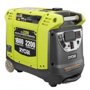 RYOBI 2200 STARTING WATT DIGITAL INVERTER GENERATOR RYi2200